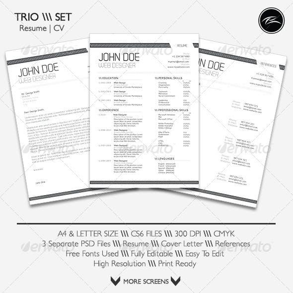 Trio Set 1.0