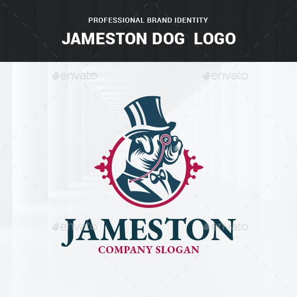 Jameston Dog Logo Template