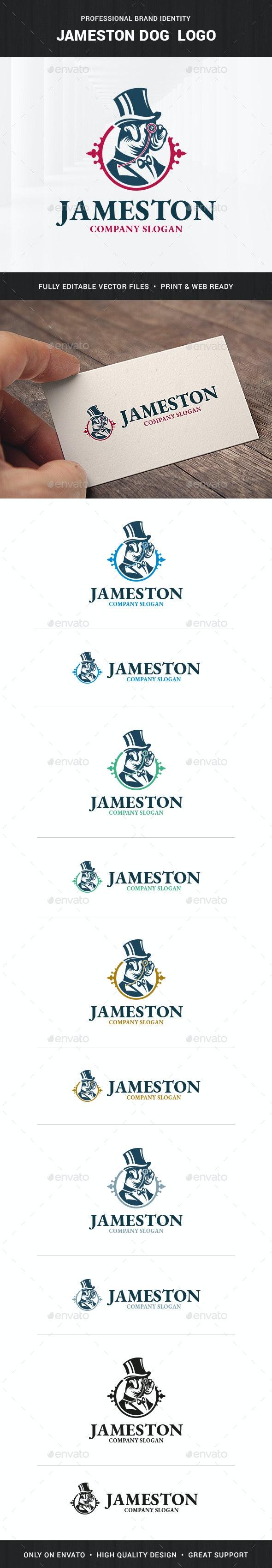 Jameston Dog Logo Template - Animals Logo Templates