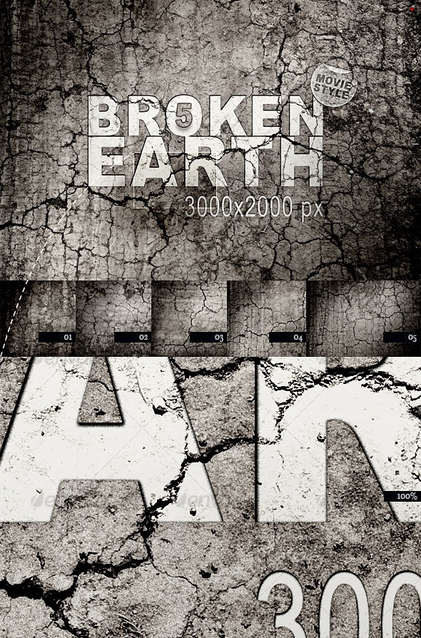 Broken Earth – Movie Style - Miscellaneous Textures