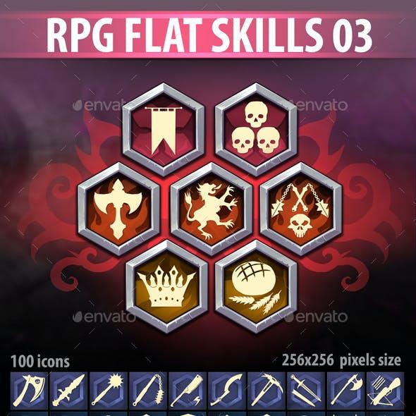 RPG Flat Skills 03