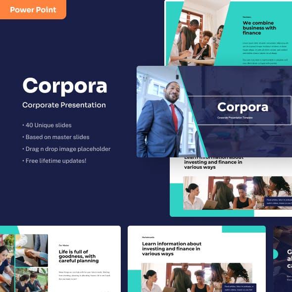 Corpora - Corporate Power Point Presentation