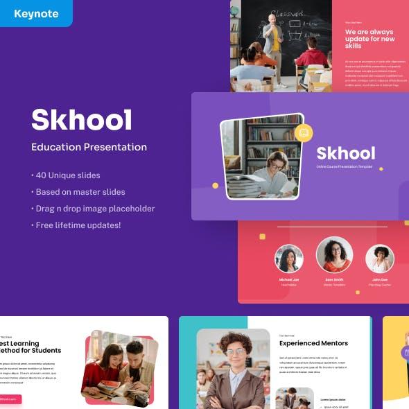 Skhool - Education Keynote Presentation