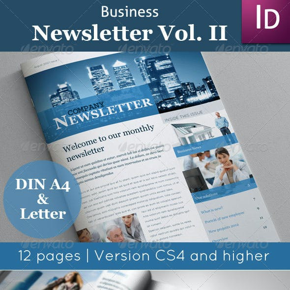 Business Newsletter Vol. II
