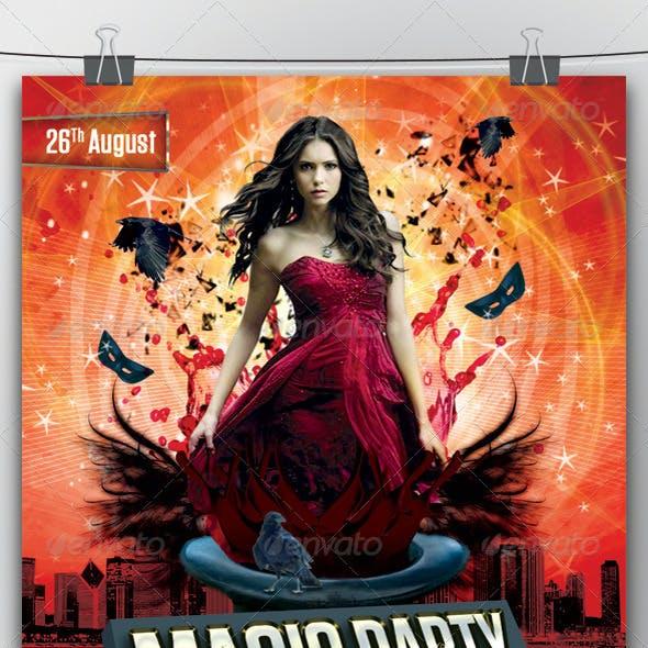 Magic Party Flyer