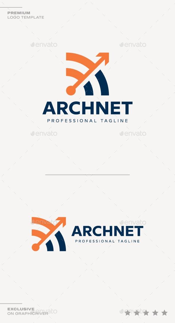 Arch Net Logo - Symbols Logo Templates