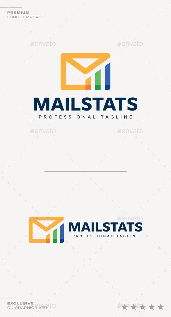 Mail Stats Logo - Symbols Logo Templates