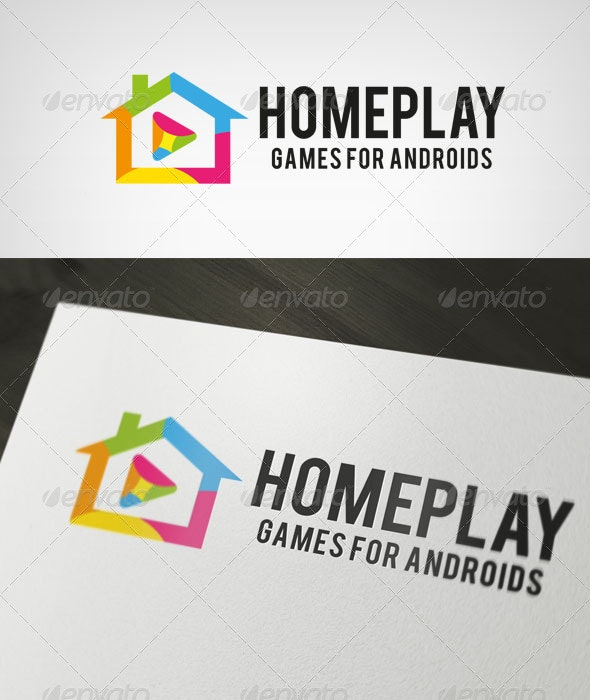 HomePlay Logo - Symbols Logo Templates