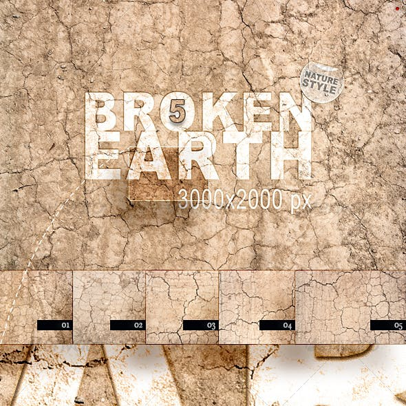 Broken Earth – Nature Style