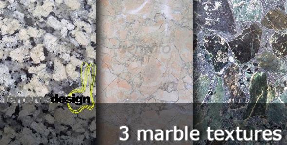 3 Marble textures - Stone Textures