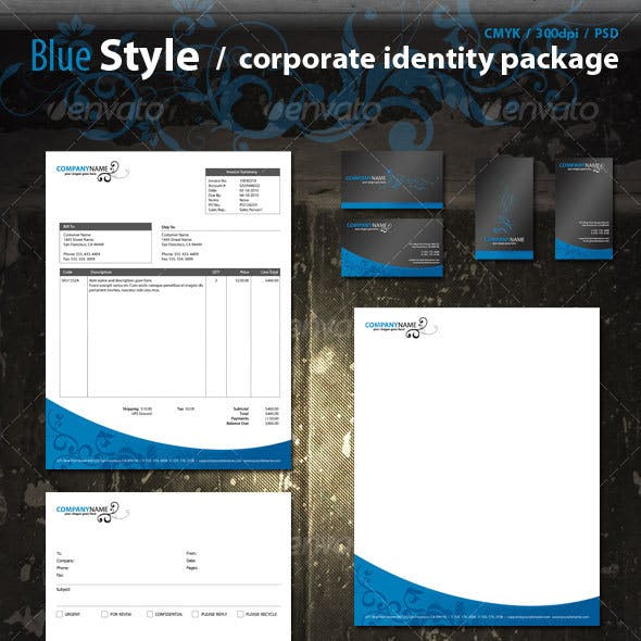 Blue Corporate Pack
