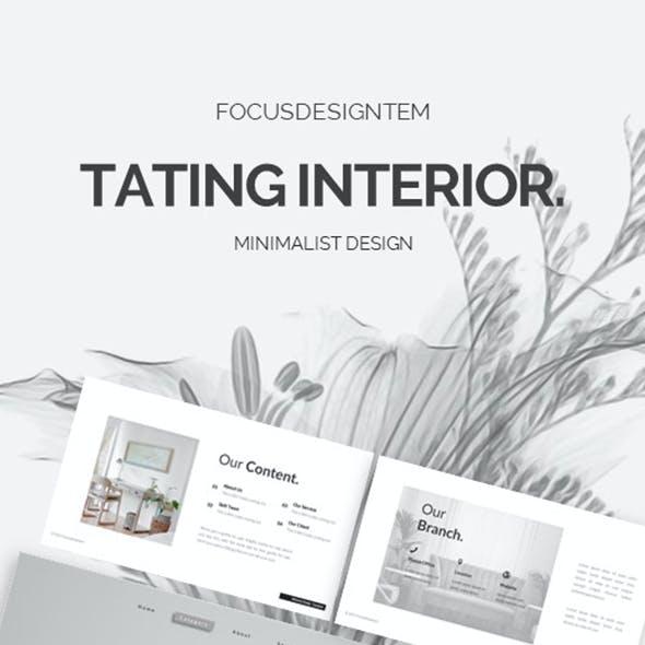 Tating Interior Keynote Template