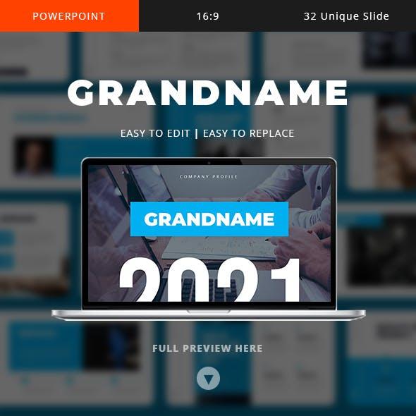 Grandname - Company Profile Template