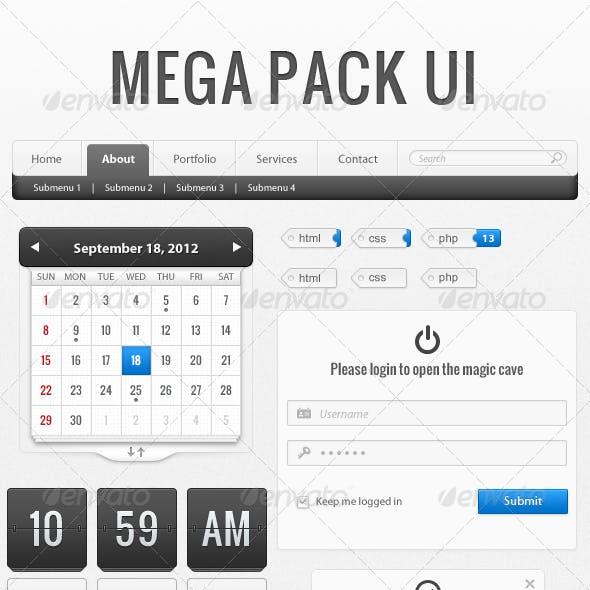 Mega Pack UI