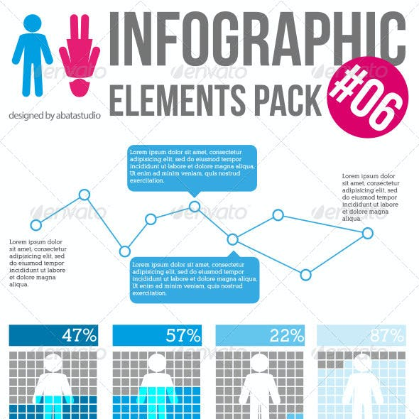 Infographic Elements Pack 06