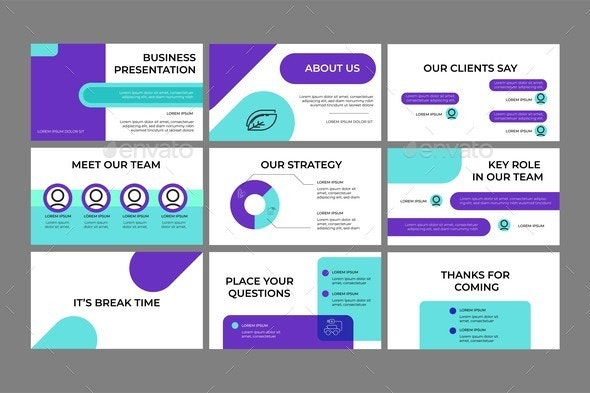 Company Investment Presentation - Business Conceptual