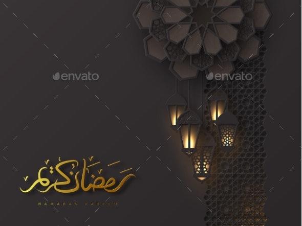 Ramadan Kareem Holiday Design - Religion Conceptual