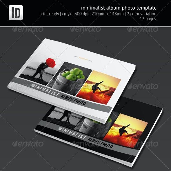 Minimalist Album Photo Template
