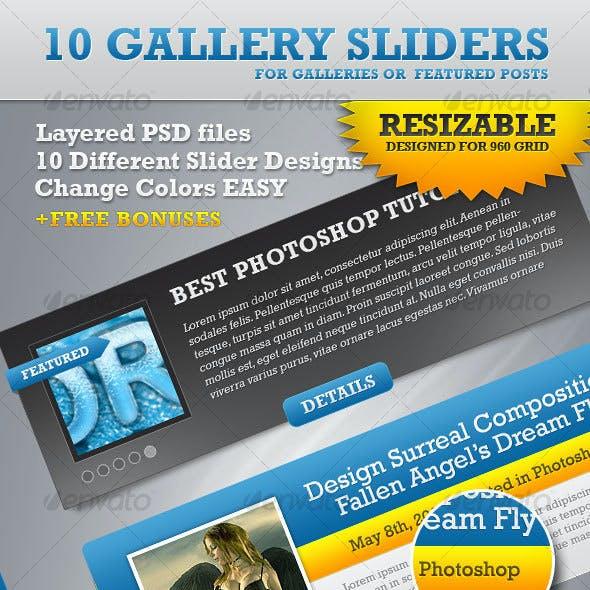 Gallery Slideshows