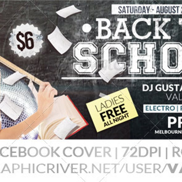 Back to School | After School | Facebook Cover