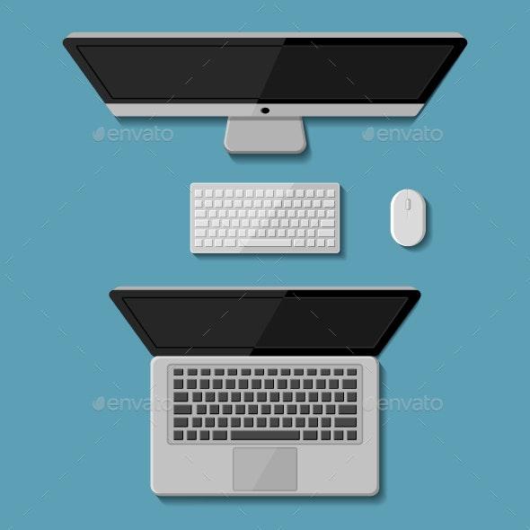 Desktop computer and laptop - Computers Technology