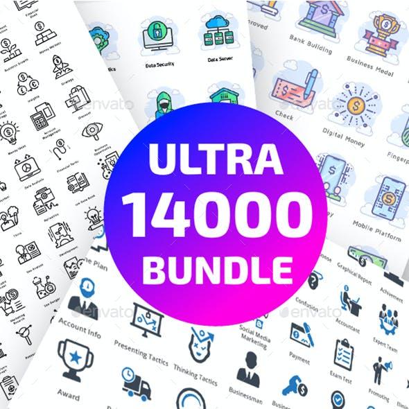14000 Ultra Big Bundle Icons