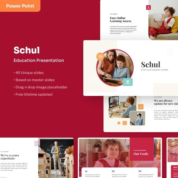 Schul - Education PowerPoint Presentation