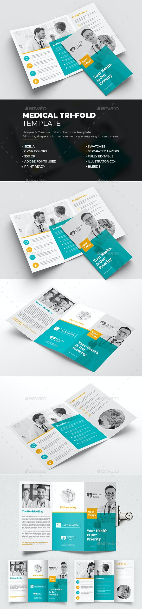Medical Tri-Fold Brochure - Corporate Brochures