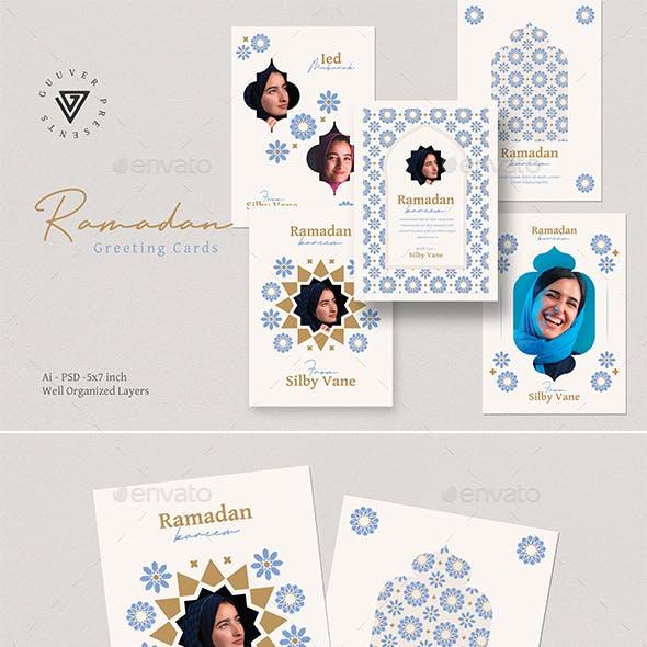 Ramadan Kareem Greeting Cards