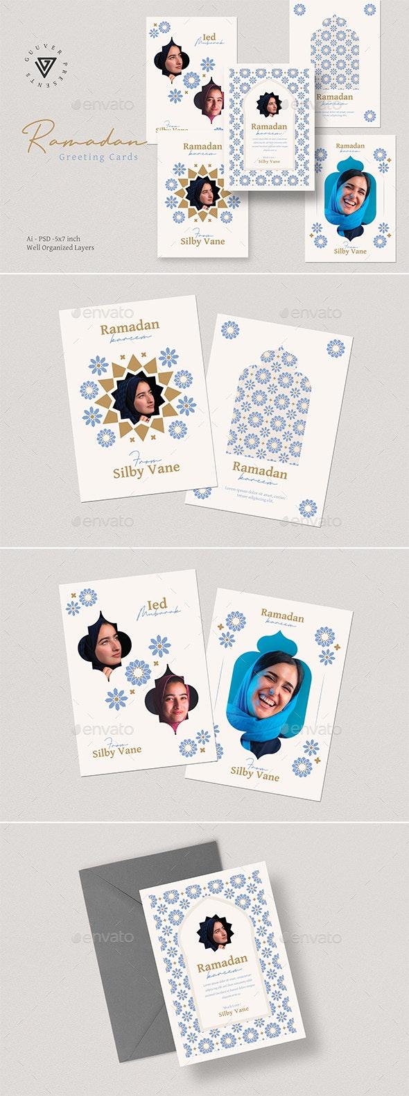 Ramadan Kareem Greeting Cards - Cards & Invites Print Templates