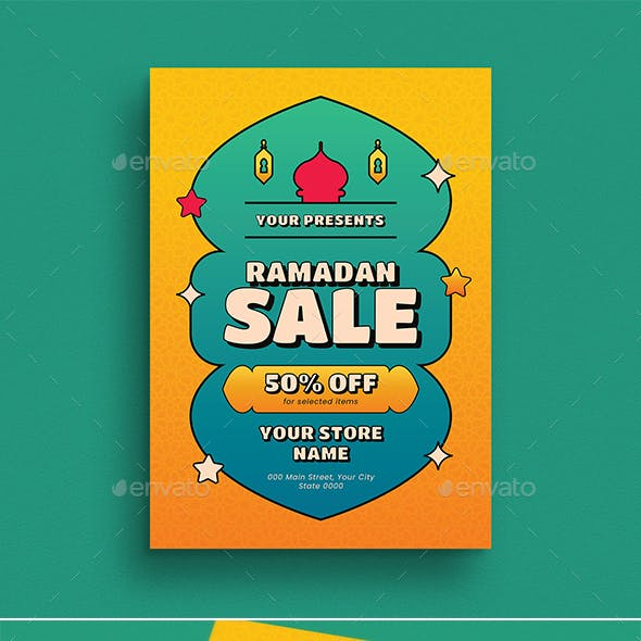 Ramadan Sale Event Flyer