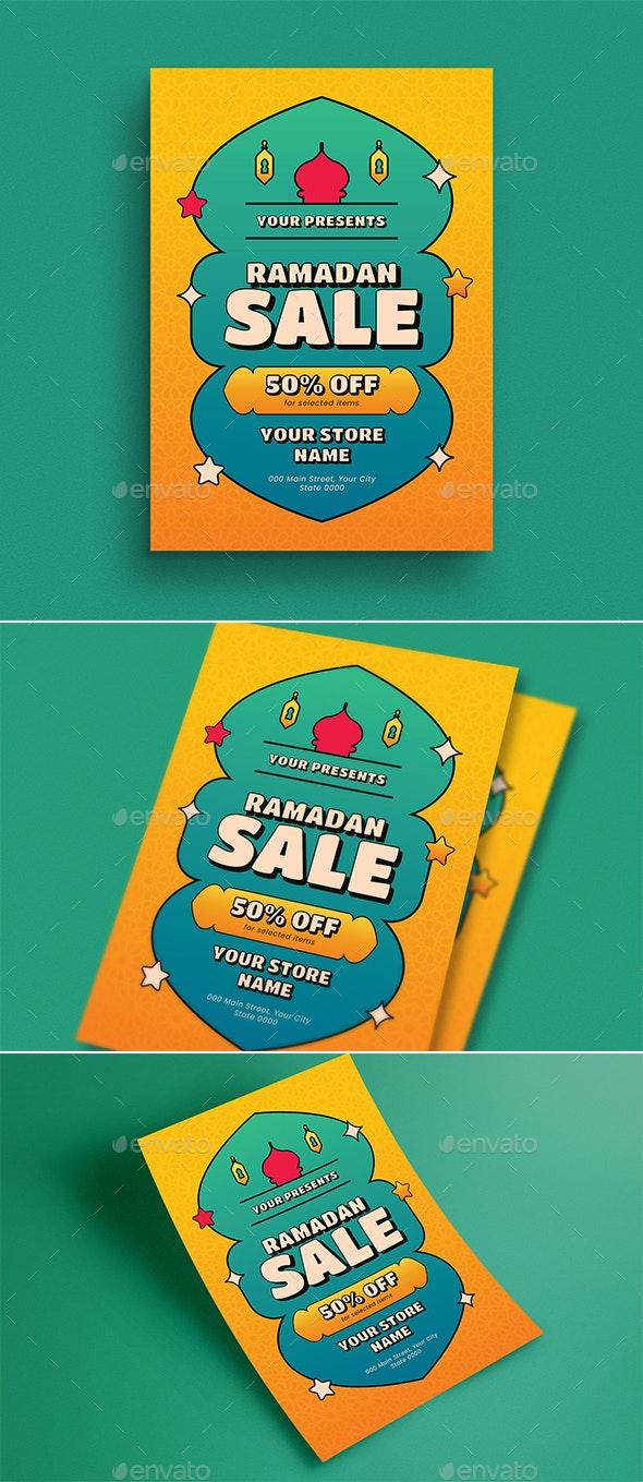Ramadan Sale Event Flyer - Flyers Print Templates