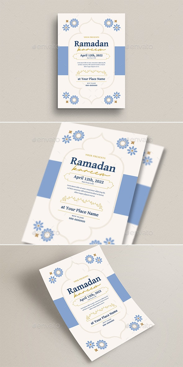 Ramadan Kareem Invitation/ Flyer - Flyers Print Templates