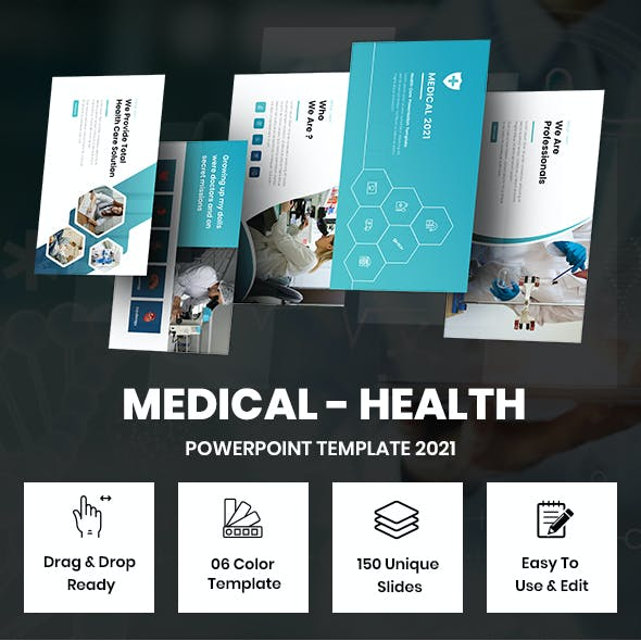 Medical - Healthy Powerpoint Template 2021