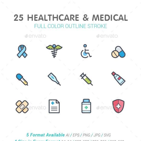 Healthcare Color Icon
