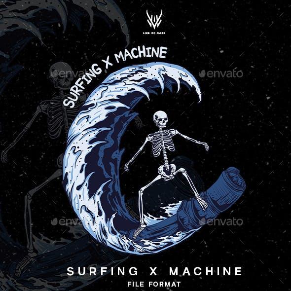 Surfing X Machine