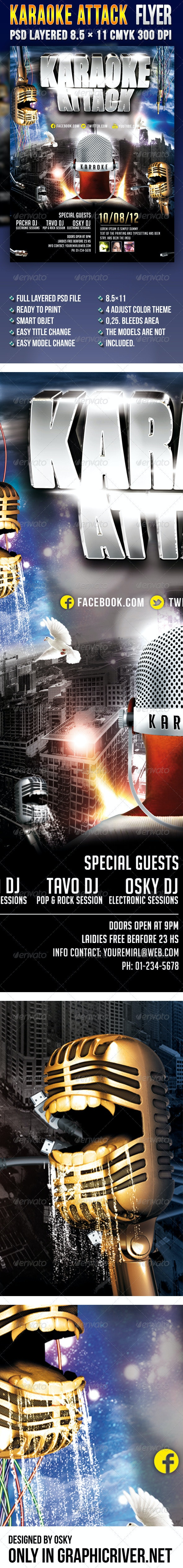Karaoke Attack - Clubs & Parties Events