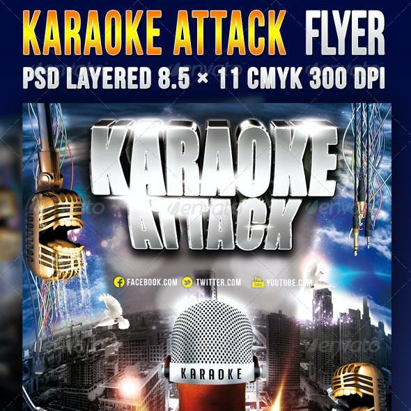 Karaoke Attack