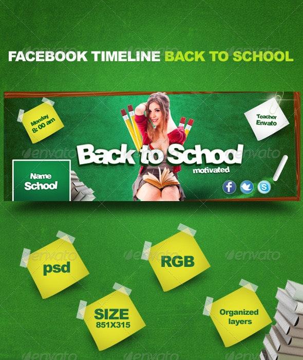 Facebook Timeline Back to School - Facebook Timeline Covers Social Media