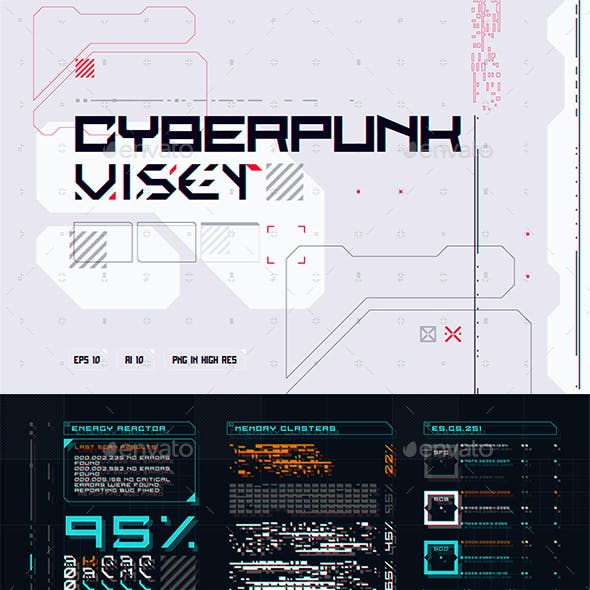 CyberPunk UI Set