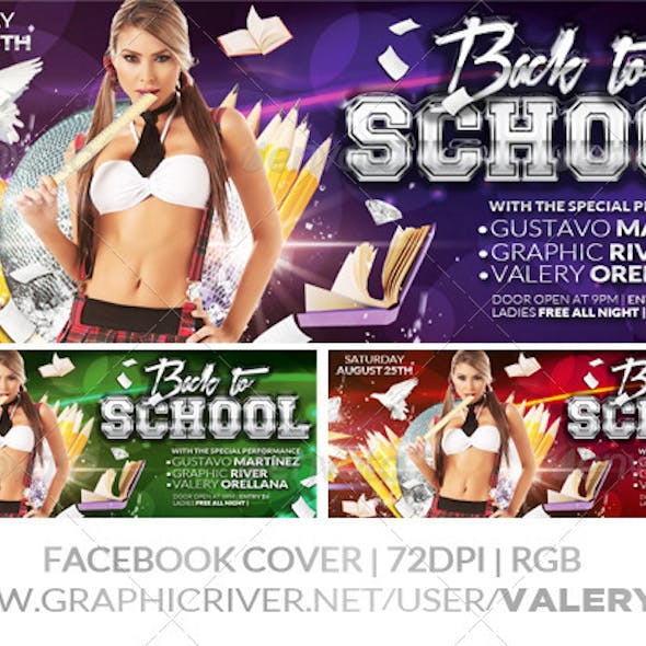 Back to School 02 | After School | Facebook Cover