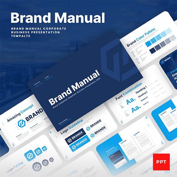 Brand Manual PowerPoint Presentation Template