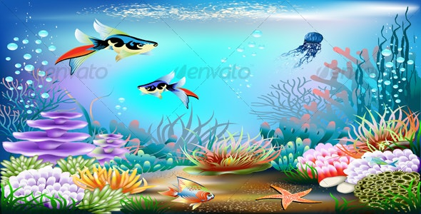 Underwater World - Nature Conceptual