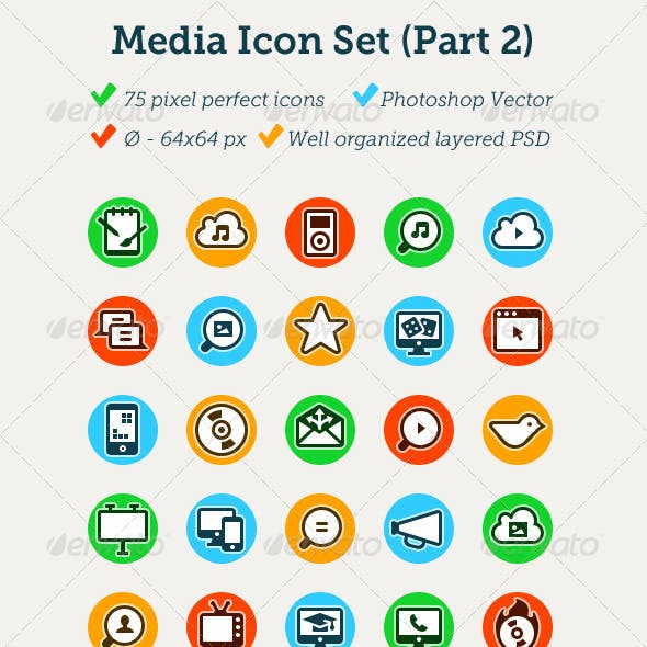 Media Icon Set (part 2)