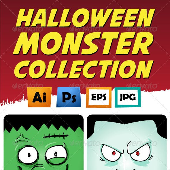 Monster Face Collection