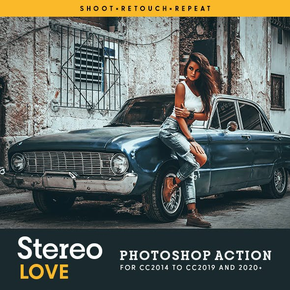 Stereo LOVE - Photoshop Action