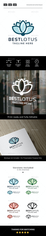 Best Lotus Logo - Nature Logo Templates