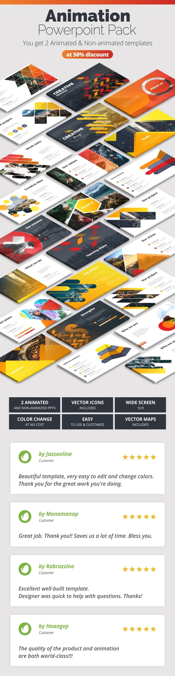 Creative Pitch Deck Infographics - Creative PowerPoint Templates
