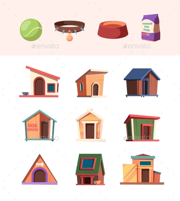 Zoo Market - Miscellaneous Vectors