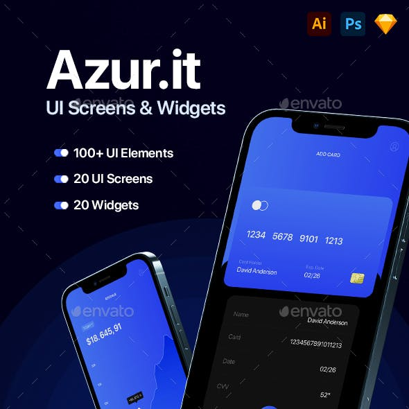 Azur.it – UI Design Pack